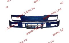 Бампер C синий верхний+нижний (в сборе) фото Воронеж